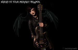 Jinxx. Perfect Weapon. by kenziekaykaulitz