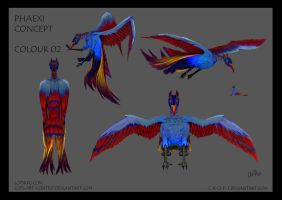 Phaexi Concept - Colour 02 by c-r-o-f-t