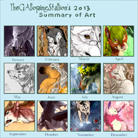 2013 Summary of Art by Aminirus