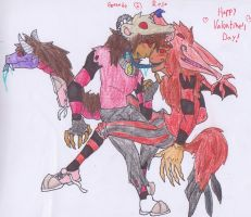 Happy V- Day, Wolves by CaliforniaSigma