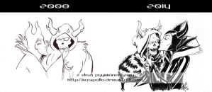 Horned King and Maleficent: Improvement by Kasipallo