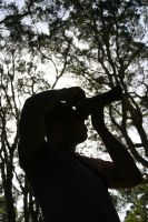 Silhouette Photographer by pwnasarus-rex17