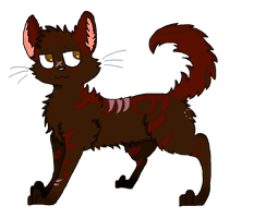 Rosethorn [Art Trade With Wolven13] by puppycakessss
