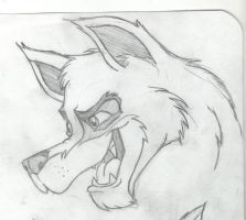 Wolf-dog by millegas