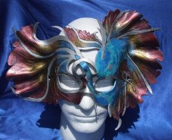 Sea goddess Koi mask by Jedi-With-Wings