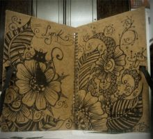 sketch book by Lynkness