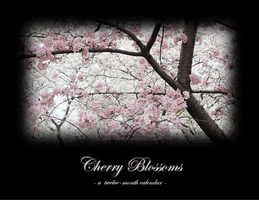 Cherry Blossoms Calendar by zaphotonista