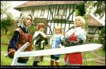 Final Fantasy 3: The full team by elpheal