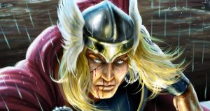 Thor - Detail by ArcosArt