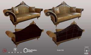 Empire Sofa - PSHome by Denuvyer