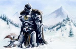 Hunting the Frost Giant by Scott-Edward