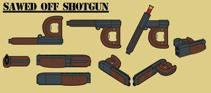 Fallout Equestria: Short-Barreled Shotgun by ThisHomeBoy24