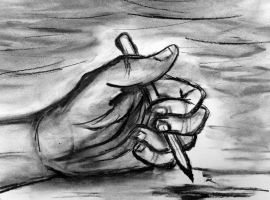 My Drawing Hand by BravoKrofski