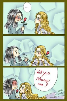 Celeborn and Galadriel - 29/2 by Windrelyn