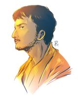 Oberyn portrait by Dreki-K