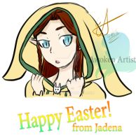 Happy Easter from Jadena! by AnimeEmm
