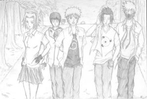 Naruto : High School by ryuken13