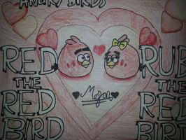 Angry Birds Love:Red and Ruby[Red Birds] by MeganLovesAngryBirds