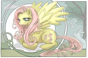 Fluttershy by animatey