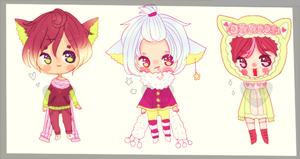 Winter adopt cats- auction CLOSED by kioler