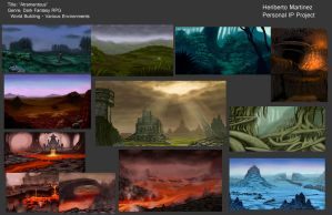 Atramentous IP Environment Thumbs by xensoldier