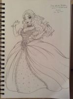 The White Queen - sketch by Tatara94