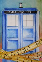 The Tardis by Scyiss