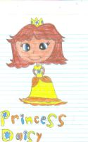 Princess Daisy by sagethemouse
