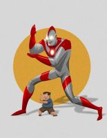 I am Ultraman by LazaroRuiz