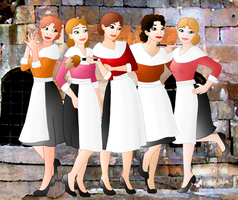 The Castle Maids by Willemijn1991