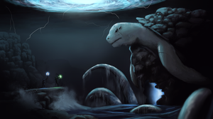 RIFT: Water Colossus by daveartwork
