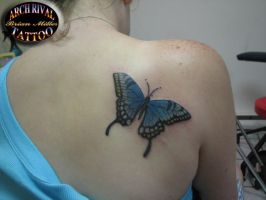 Big Butterfly by theothertattooguy