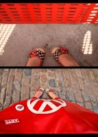 My shoes and bag by brooze
