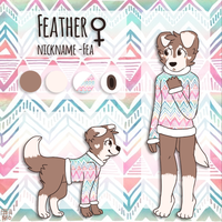 2014 Feather Ref by Flovvers