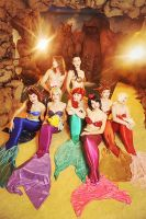 Mermaid group 2 by Usagi-Tsukino-krv