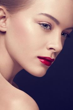 Red Lips Beauty by Kristiana1990