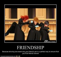 KH MP:  Friends by Cats-Eye-93