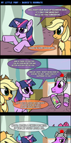 MLP: Dashie's Roommate by AniRichie-Art