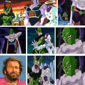 Bud Spencer and Piccolo, Team Up in Afterlife by ToraStrife