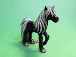 Black Unicorn by DragonsAndBeasties