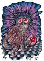 Owltopus by ponychops