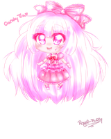 Chibi Giftie for CandyTia by Royal-Fluffy