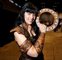 Xena..Chackrum at the ready by tfcreate