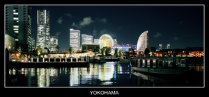 Yokohama by night by yakitatemaster