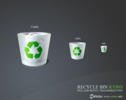 recycle bin icon by nelutuinfo