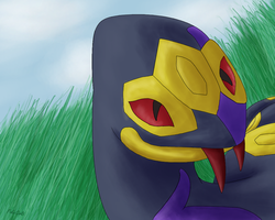 Seviper by PokeGirl5