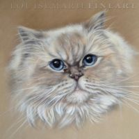 'Gizmo' by LouiseMarieFineArt