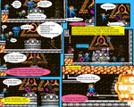Issue 1, Pages 6 and 7 by BlueBomberComics