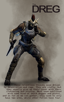 Destiny - The Dreg by HannahRooth