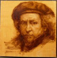 Rembrandt Self Portrait by vee209